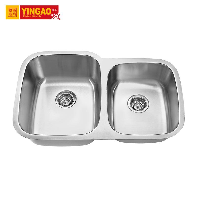 Double Capacity Standard Kitchen Sus304