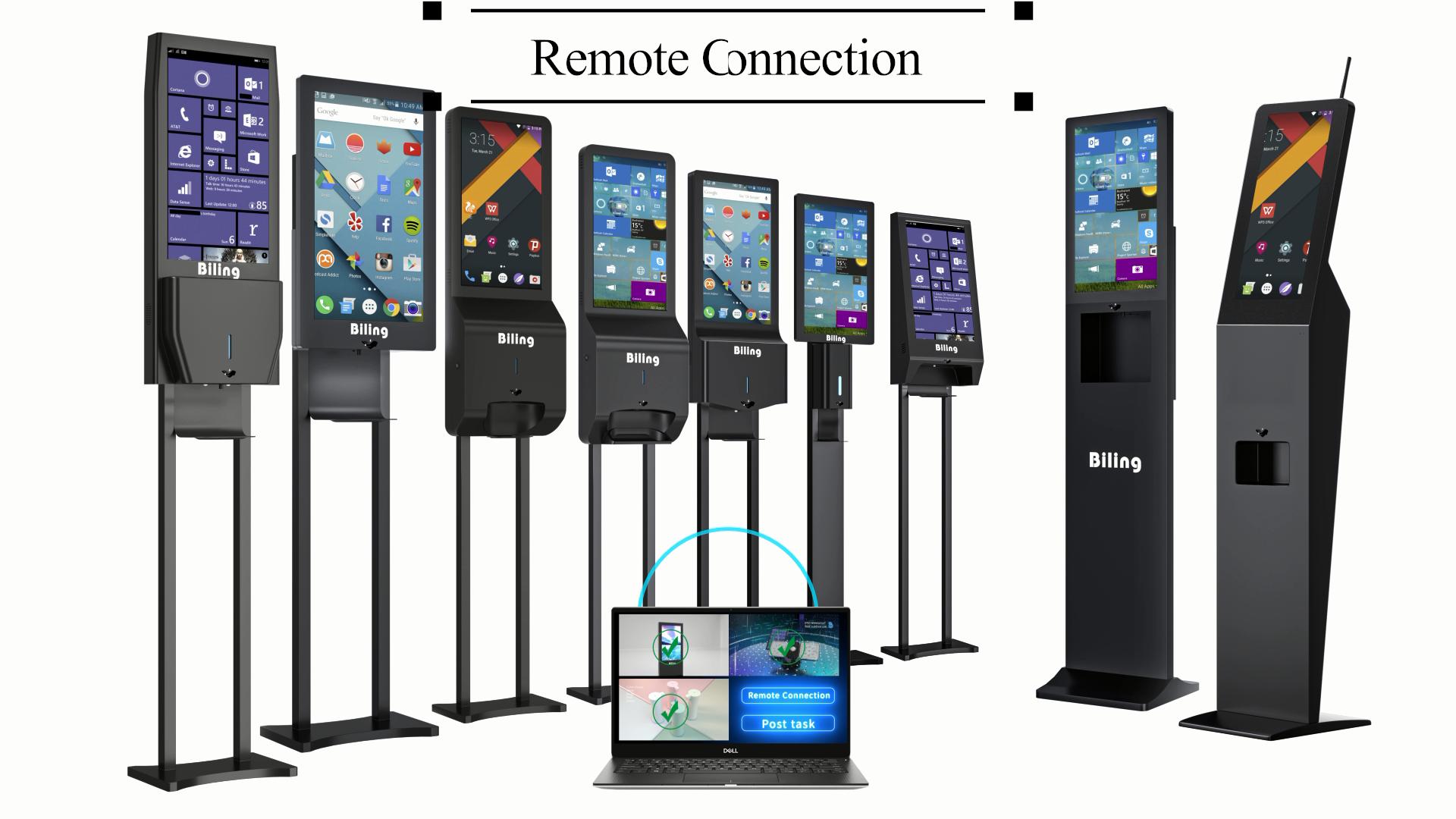Advertizing Kiosk Advertising Display Digital Signage With Hand Sanitizer