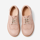 flat vegan leather brogue wint tip casual kids oxford baby shoes toddler