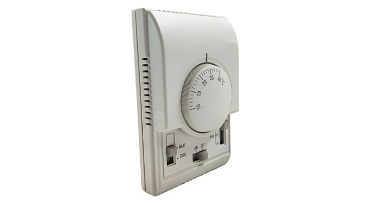 high quality  Mechanical T6373 smart hotel room thermostat controller for Air conditioner