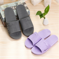 Hot Indoor Family Flat Bathroom Slippers Non-slip Home Floor Slippers Sandal Slippers