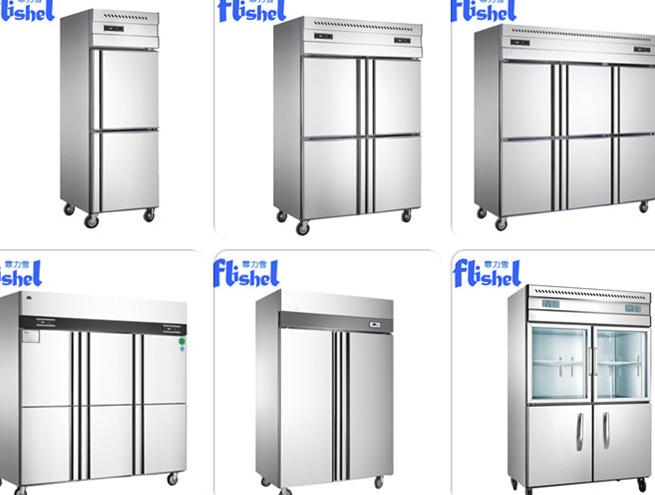1000L Nuovo Stile in acciaio inox per Uso Professionale top Compressore Ristorante frigo