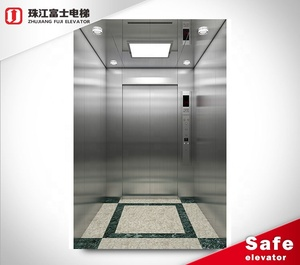 Oem Cheap Office Safety Designed Configuration Complete Commercial Machine Room Comfortable Passenger Elevator For elevator lift