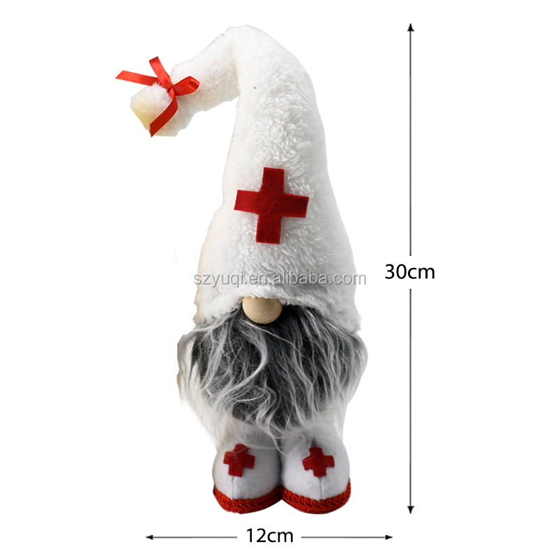 2020 New Arrival Cute Style Elf Custom Soft Plush Doll Toy Gift for Medical Workers