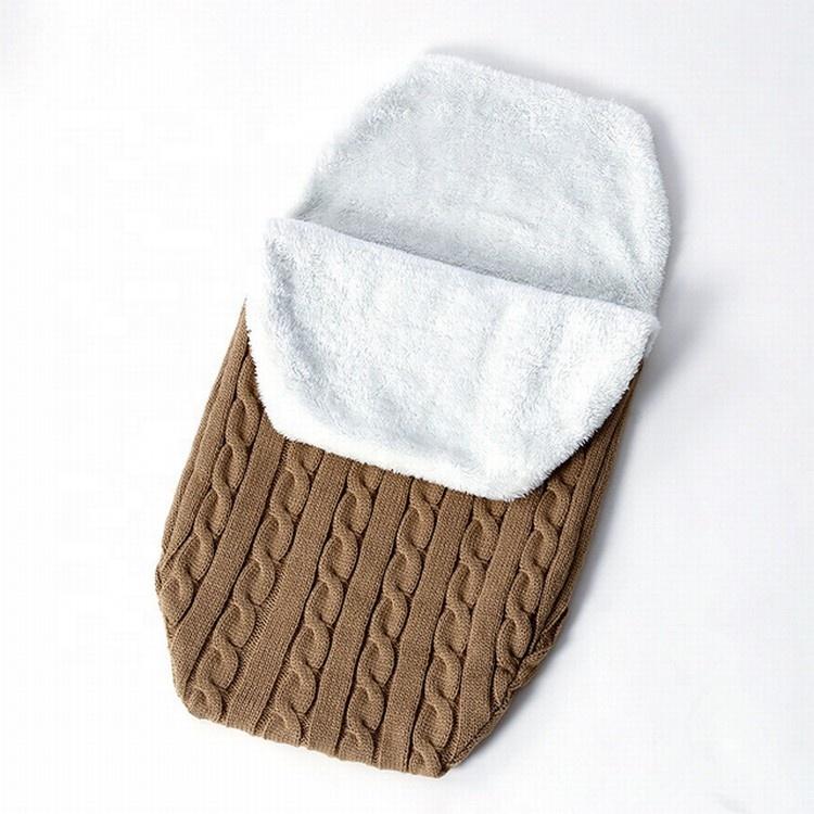 도매 부드러운 품질 폴리 에스테르 신생아 담요 아기 침낭 겨울 비행기