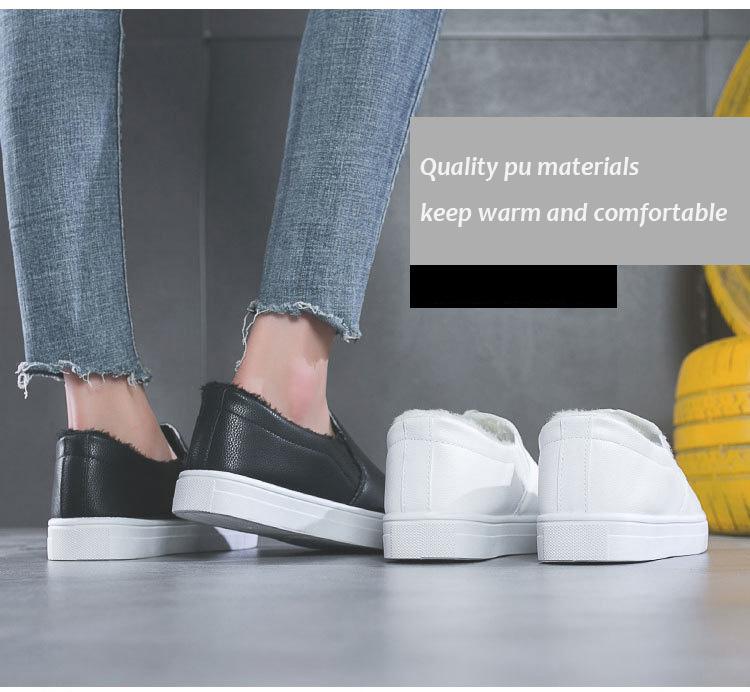 Pronto per la spedizione di modo dell'unità di elaborazione superiore materiale di scarpe a buon mercato donne piane casuali per le signore