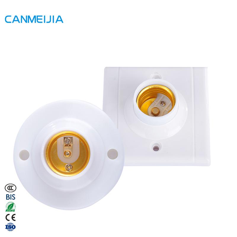 E27 E14 B22 قائم مصابيح أنواع التجهيزات المعدنية النحاس امفولدر الاكريليك المقبس أجزاء مصباح حامل/لمبة حامل/قاعدة مصابيح