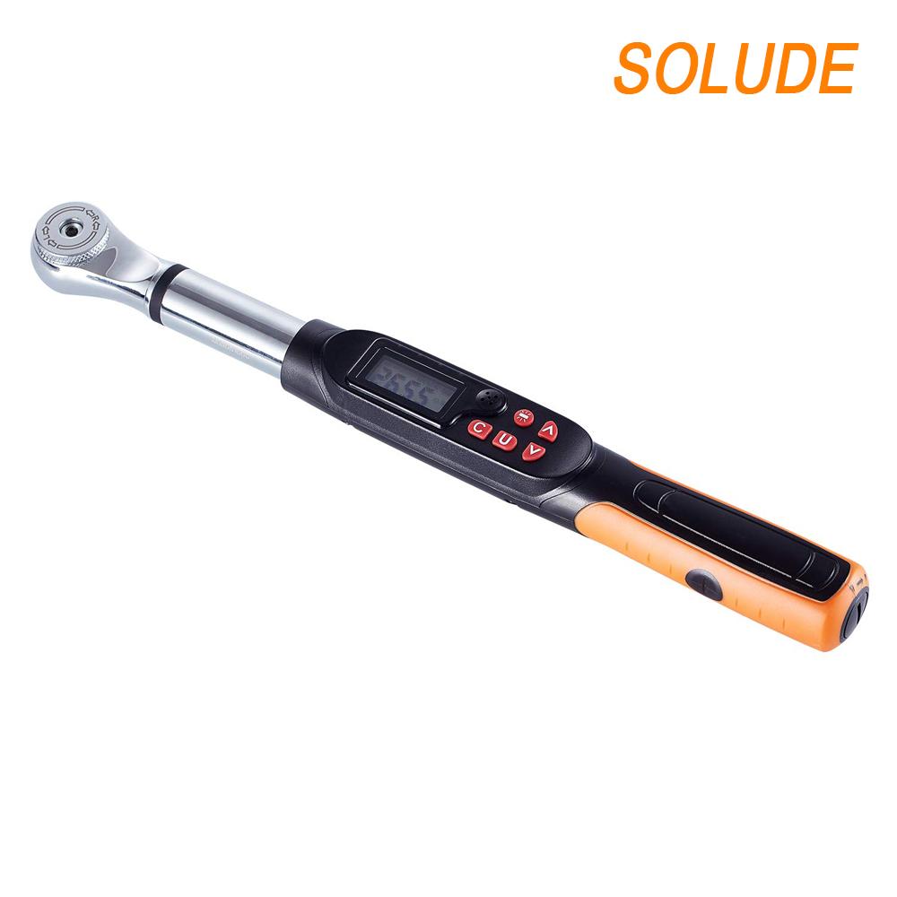 SOLUDE Électronique Numérique Clé Dynamométrique Réglable, 1 ~ 340 Nm,Portable Outils De Mesure De Précision
