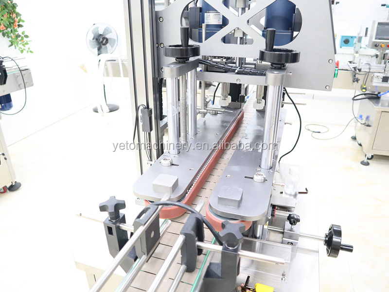 factory glass or plastic pet bottles capping automatic screwing machine
