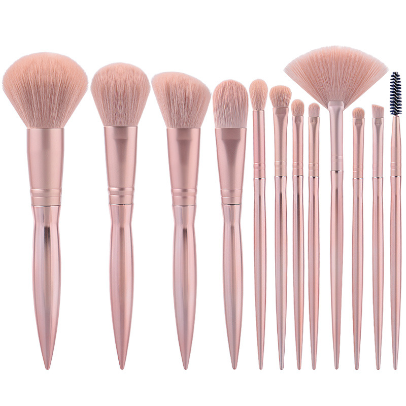 <strong>High</strong> <strong>quality</strong> pink <strong>makeup</strong> <strong>brush</strong> for personal use cosmetic <strong>brush</strong> sold by amazon accept custom logo