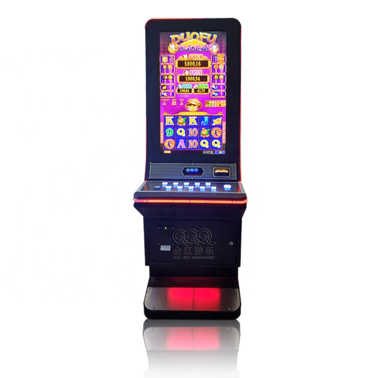 2019 Nieuwe video games 88 Fortuinen Gebogen Lcd-scherm Slot Game Machine