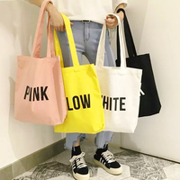 wholesale eco friendly canvas tote bag blank organic cotton tote bags with custom printed logo