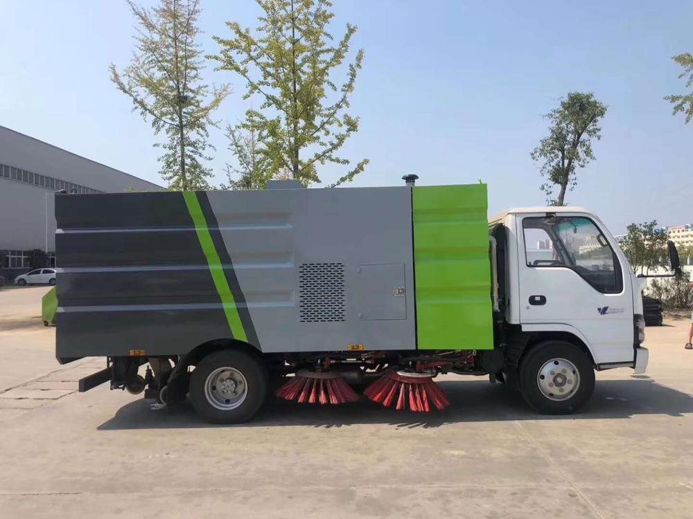cleaning machine japan canister the dustbin and water tank of road sweeper truck vehicle made CN in Andorra