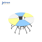 School Collaborative School Desks China School Furniture Desk Manufacturers Smart Classroom Chargeable Collaboration Table