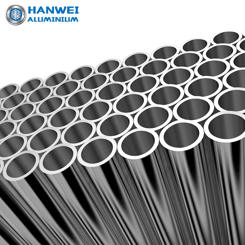 Aluminum Profiles Pipe Alloy Round Tube 6063 6061