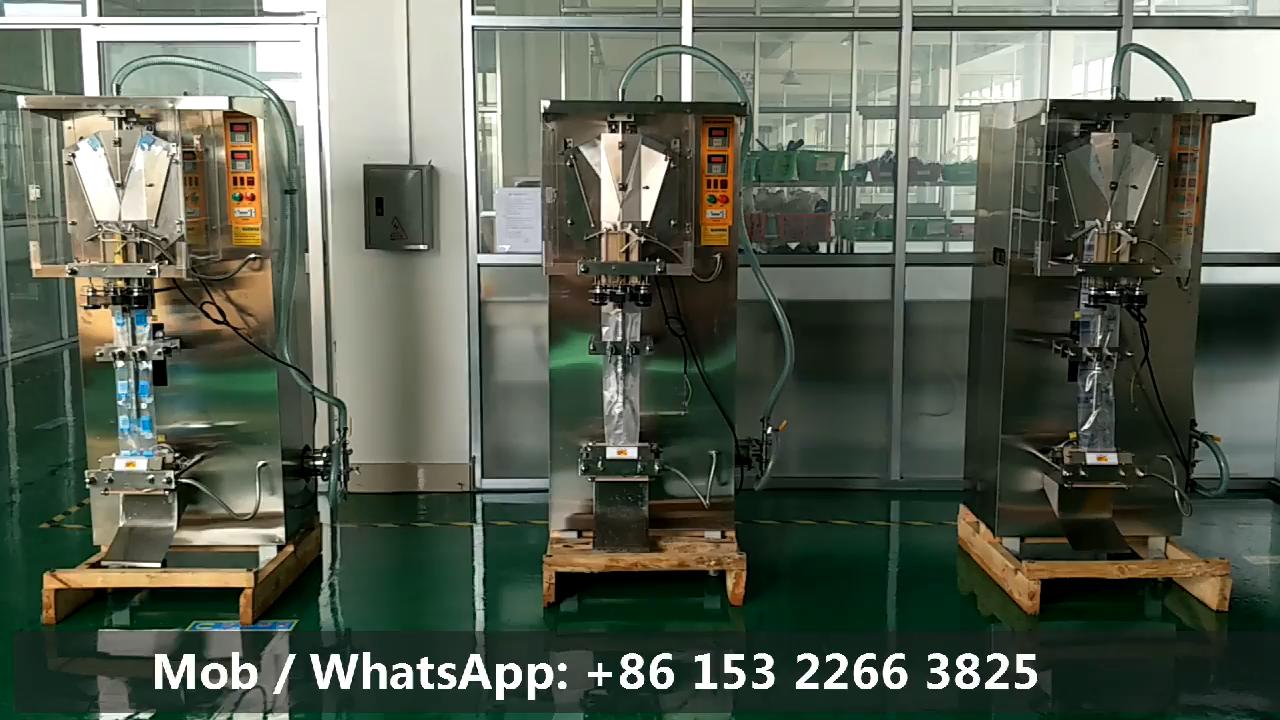 Fabriek Prijs Volautomatische Vullen Plastic Zak Drinken Pure Zakje Water Verpakkingsmachine