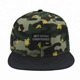Customized design camouflage plain high quality camo sport hats