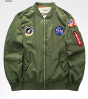 new men fashion jacket america air force one jacket casual coat
