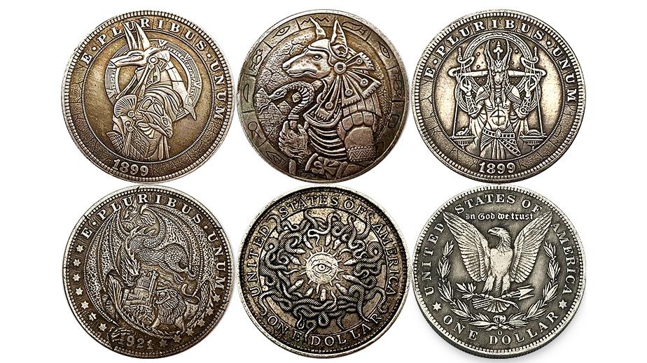 Wholesale USA Liberty Cheap Price Silver Antique Brass In Stock Souvenir Coins