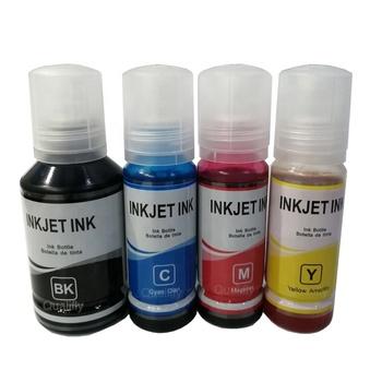 T502 refill dye ink for inkjet printer  ciss ink  for EPSON ECO tank printer ET4760 ST200 ET2750 ET3