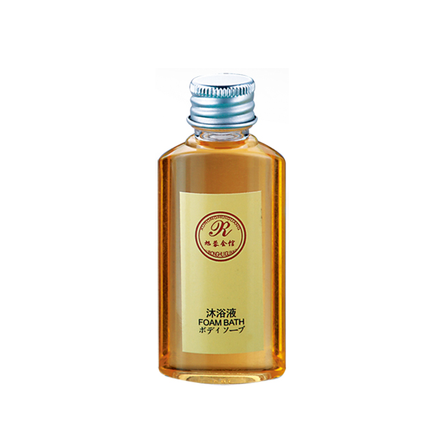 Customized Hotel Amenities Shampoo Shower Gel