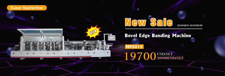 MFZ609  Automatic glue machine for 3mm PVC Edge Banding Machine for Woodworking