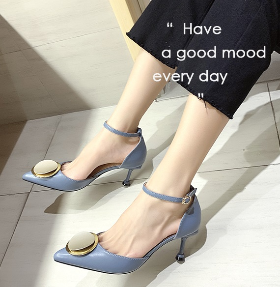 2020 brand new style women middle heel shoes wholesale fashion girl sandals