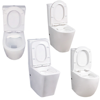 australia toilet automatic smart seat ceramic closecoupled modern wc set bathroom sink closet 2 piece toilet less water closet