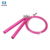 Chinese high quality smart fashion fitness exercise steel cable high speed rope adjustable custom logo loop jump rope