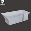 Chinese Supplier Freestanding Red Heart Shaped Bathtub