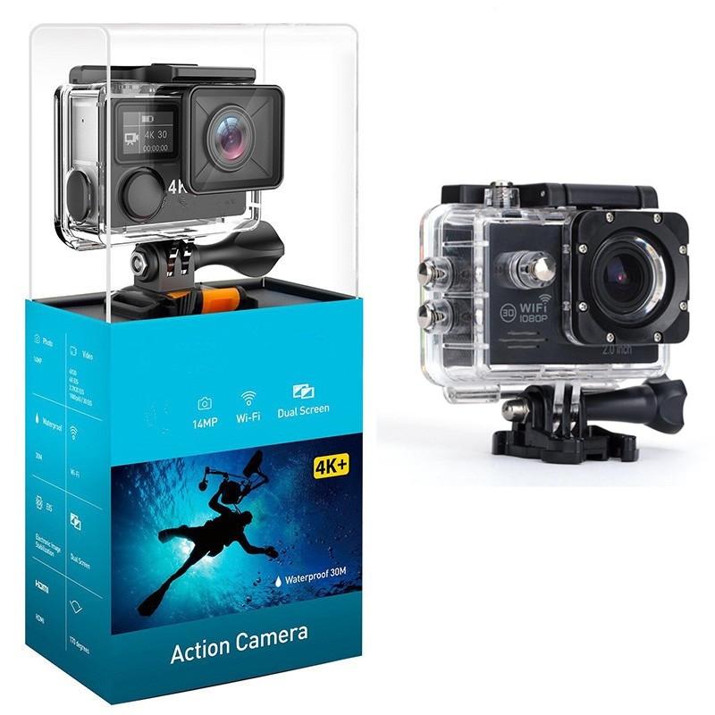 カスタマイズされたブランド SJ7000 akaso apeman 4 18k/1080 1080p の wifi アクションカメラ水中で囲碁プロアクリルボックス