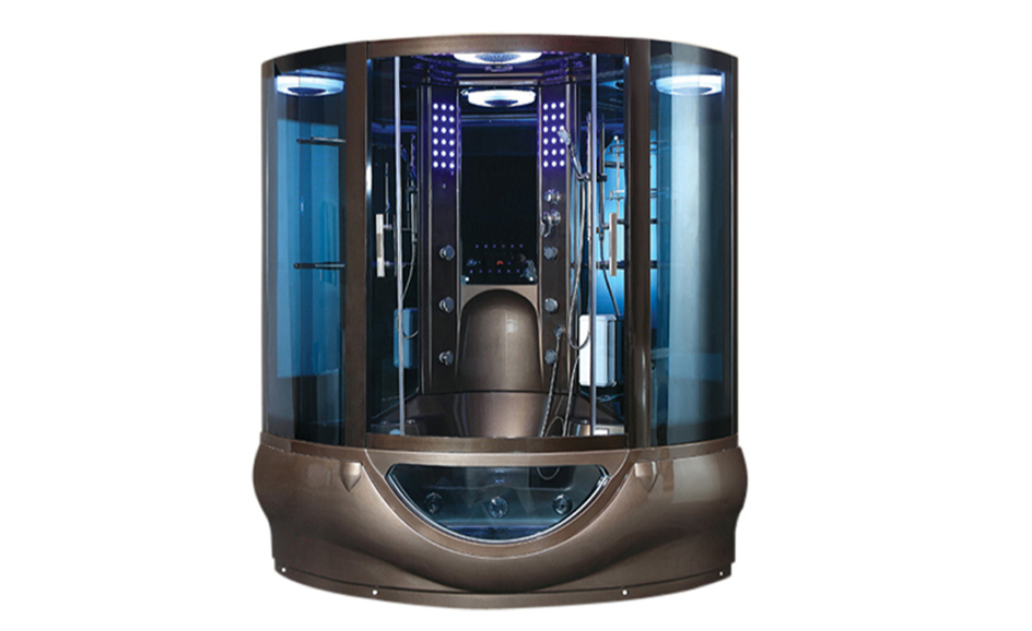 Luxury Dubai style steam room cabin