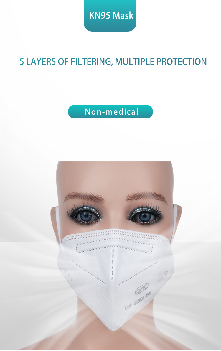 Wholesale High Quality Meltbrown Kn95 Face Mask Face Cover - KingCare | KingCare.net