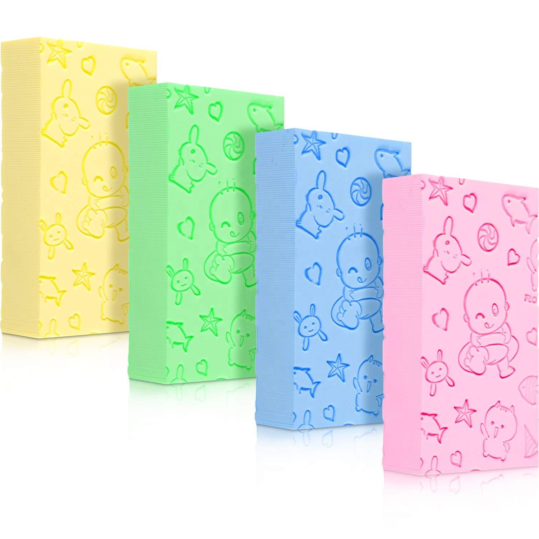 Ultra Soft Exfoliating Shower Sponge Bath Sponge Brush Spa Scrubber Sponge Skin Care For Baby & Adult