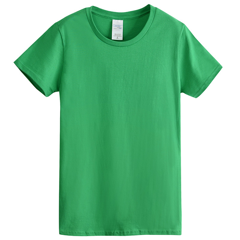 2019 Wholesale Cotton Custom oem Women's t shirt blank Plain t shirts