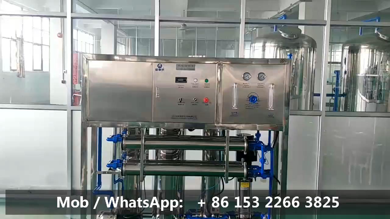 Fostream 500 Lph 500LPH Omgekeerde Osmose Waterzuivering Kleine Ro Water Behandeling Systeem