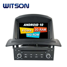 Witson Quad-Core Android 10.0 Gps Lettore Dvd Dell'automobile per Renault Meganeii Fluence 2002-2008 Car Audio Sistema multimedia