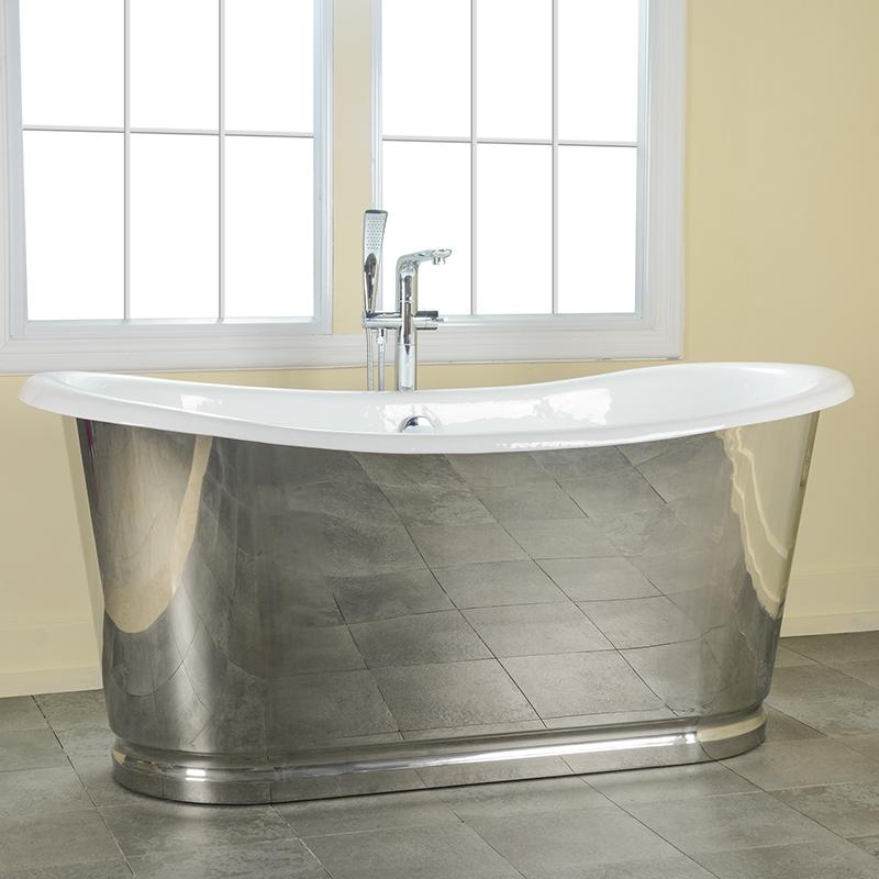 Skirted Cast Iron Bath Tub Extra Large Bathtubs Deep Bathtub