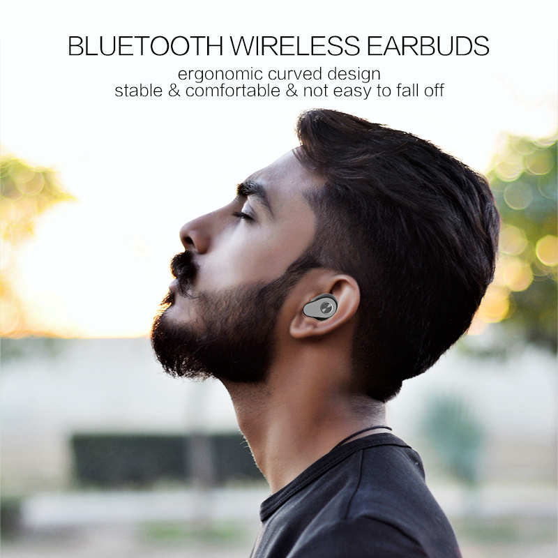 2019 oem china manufacturing cheap best custom waterproof mini sport stereo wireless bluetooth earbuds tws earphone earpiece