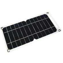 6 Вт 6 в полугибкая панель солнечных батарей, гибкий выход USB для Мобильный телефон USB вентилятор 5 в блок питания Зарядка продуктов Кемпинг Ту...(China)