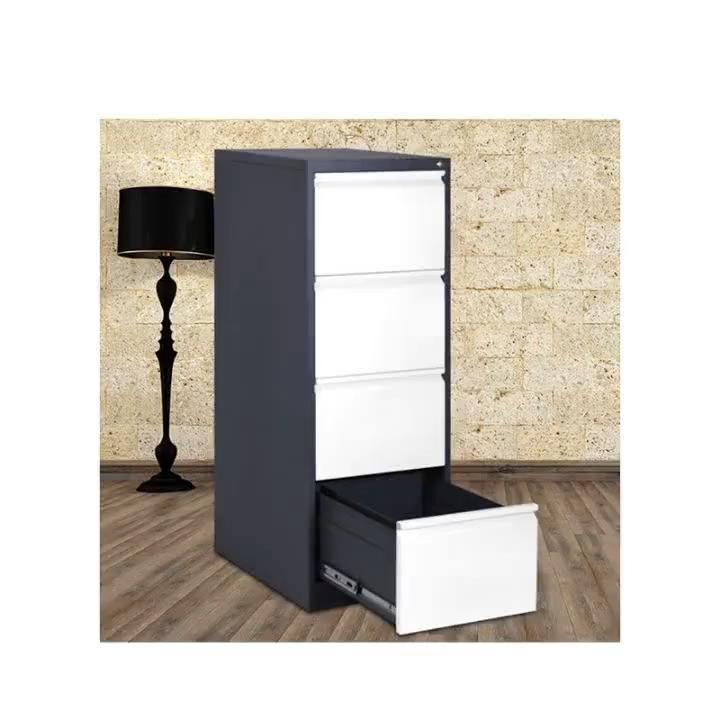 Подвижный хранения Рабочий стол из нержавеющей стали Оргтехника фиксированный белый современный шкаф для хранения документов
