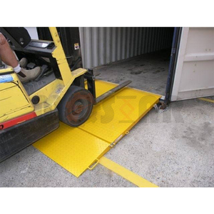 Small container loading ramps shipping container ramps for sale