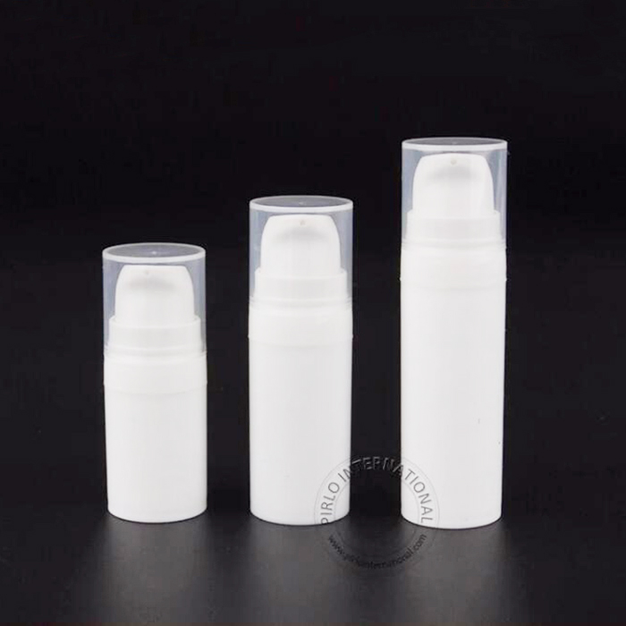 5ml 10ml 15ml Pure white plastic lotion bottle spray bottle with lotion pump sprayer