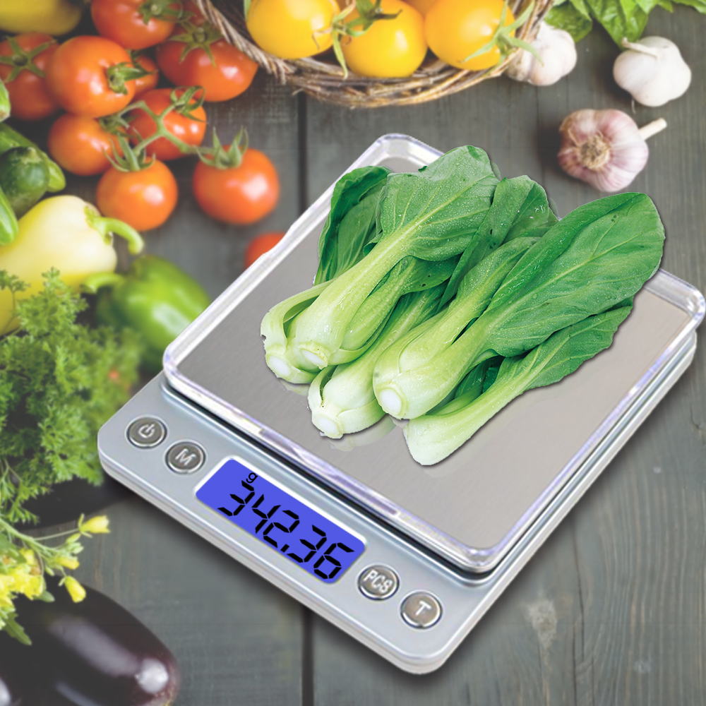 View larger image 2020 Ultra Slim Rectangle 2Kg 0.01g Vegetable Digital Eletronic Kitchen Scale 2020 Ultra Slim Rectangle