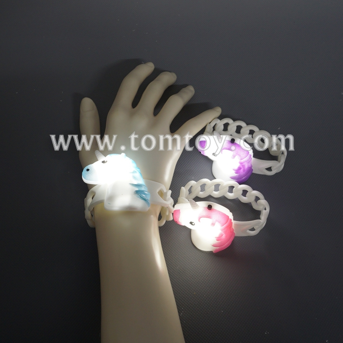 Party Decoration LED Flashing  Unicorn Bracelet
