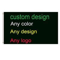Print Your Own Logo Design Words Flag 3x5 Ft Customized Flags Banners
