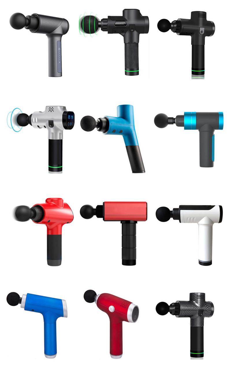 Fascial tabancası elektrikli masaj taşınabilir kas masaj tabancası