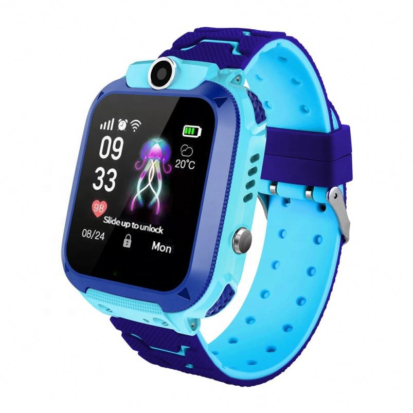 2019 Amazon hot sale smart watch kids q12 children smart watch with camera and <strong>sim</strong>