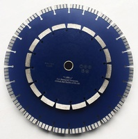 Laser Welded Diamond Concrete Saw Blade for Cutting Reinforced Concrete
