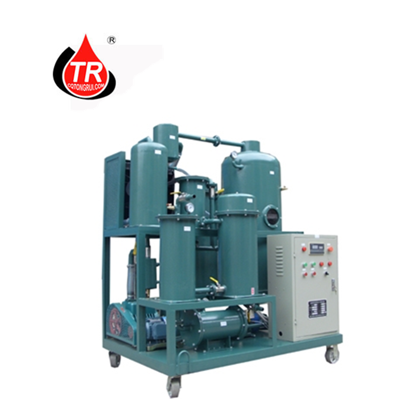 Lubrication Oil Purifier Transformer Oil Purifier Machine Hydraulic Oil Purification Plant